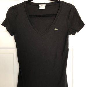 Black Lacoste T-Shirt